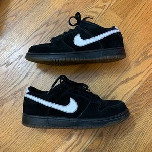Nike Black Suede Sneakers